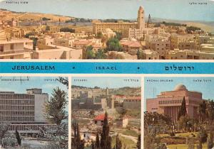 Jerusalem Israel Partial View, Citadel, Hechal Shlomo Jerusalem Partial View,...