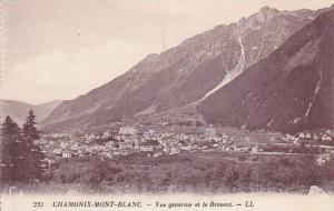 Vue Generale Et Le Brevent, Chamonix-Mont-Blanc, Haute Savoie, France, 1900-1...