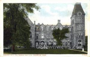 Boynton Hall Worcester MA Unused