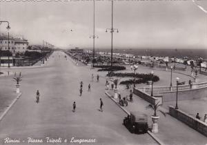 Italy Rimini Piazza Tripoli e Lungomare