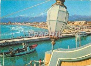 Modern Postcard Panorama Viareggio