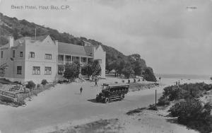 South Africa Cape Town Chapman's Peak C.P. Hout Bay Beach Hotel Bus Truck Car