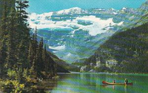 Canada Alberta Lake Louise And Victoria Glacier 1967