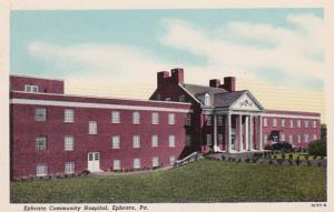 Pennsylvania Ephrata Community Hospital Curteich