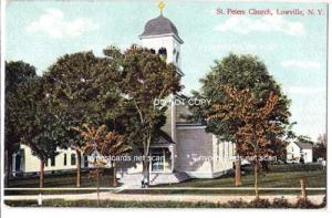 St. Peter's Church, Lowville NY