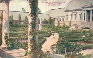 Corner Conservatory Shaw's Garden 1921 ST LOUIS MISSOURI Hammon 3796