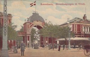 Hovedindgangen Til Tuvoli, Kobenhavn, Denmark, 1900-1910s