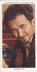 Churchman Vintage Cigarette Card In Town To-Night 1938 No 50 Douglas