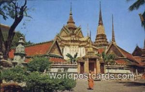 Bangkok Thailand Wat Phra Jetuphonvimolmongklaram  Wat Phra Jetuphonvimolmong...