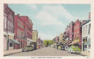 NAPANEE, Ontario, Canada, 1900-1910's; Main Street Looking West