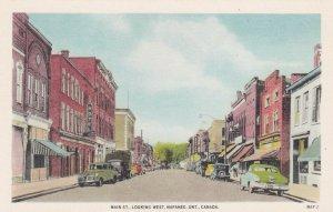 NAPANEE, Ontario, Canada, 1900-1910's; Main Street Looking West