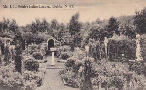 DUBLIN, New Hamshire, 1900-1910's; Mr. J.L. Smith's Italian Garden