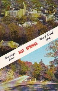 Greetings From Hot Springs National Park Arkansas 1970
