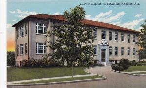 ANNISTON, Alabama, 1900-1910's; Post Hospital, Ft. McClellan