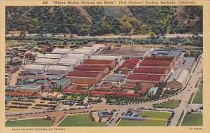 Where Motion Pictures Are Made First National Studios Burbank California 1945