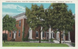 SHERMAN , Texas , 1910s ; North Texas College , Cammie Starnes Hall