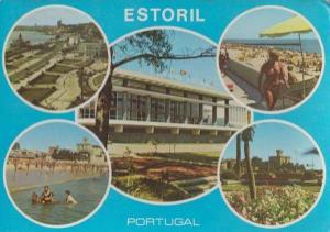 Estoril Casino Portugal 5x Multi View Postcard