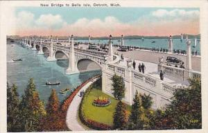 Detroit Detroit New Bridge To Belle Isle
