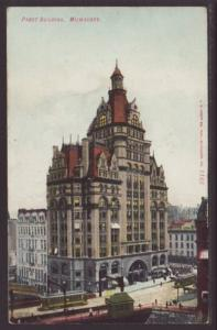 Pabst Building Milwaukee WI Postcard 4423