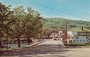 NORTH HATLEY, Quebec, Canada, 50-60s ; Main Street