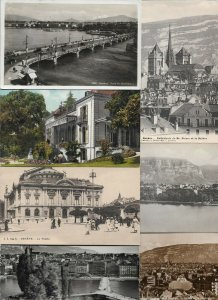 Switzerland Genève (Geneva) Postcard Lot of 21 01.11