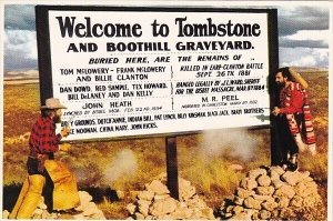 Welcome To Tombstone And Boothill Graveyard Tombstone Arizona