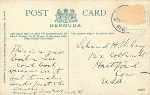 Vintage Postcard; Boilers & Reefs, South Shore of Bermuda Carribean Sea