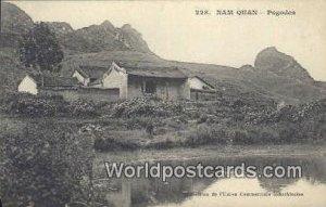 Pagodes, Nam Quan Nam Quan Vietnam, Viet Nam Writing on back