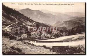 Postcard Old Lace Route Peira Cava Excursion to Nice surroundings