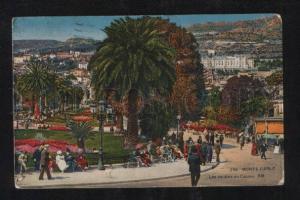058706 FRANCE Monte-Carlo Les Jardins du Casino Old