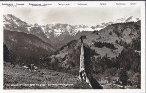 Garmisch-Patenkirchen Germany Forsthaus Graseck gegen die Wettersteingruppe,
