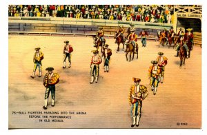 Mexico - Bullfighters Parading Into the Arena