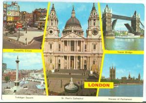 UK, United Kingdom, LONDON, used Postcard