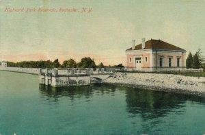 Highland Park, Rochester, New York - Reservoir and Pump House - pm 1911 - DB