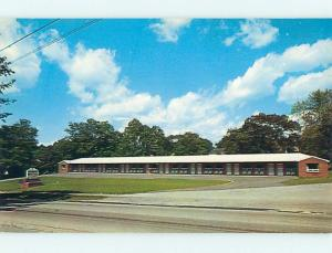 Unused Pre-1980 CATAMOUNT MOTEL Bennington Vermont VT s4708