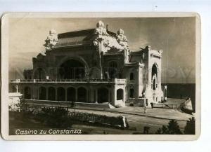 235774 ROMANIA CONSTANZA Casino Vintage photo postcard