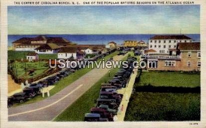 Bathing Resorts on Atlantic Ocean in Carolina Beach, North Carolina