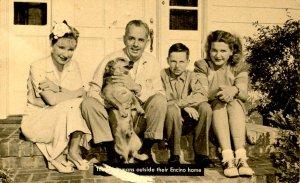 Tom Breneman & Family (Breakfast in Hollywood, 1940's)