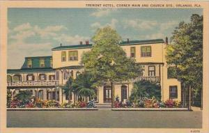 Florida Orlando Tremont Hotel Corner Main And Church Sts