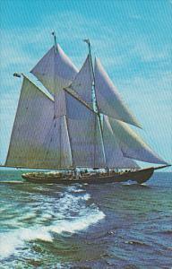 The Sailing Schooner, Bluenose II, Nova Scotia, Canada, 40-60´s