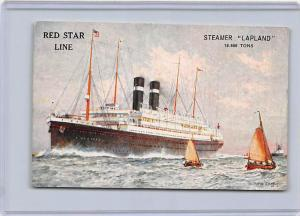 5046 S.S. Lapland  Passenger Ship  Red Star Line