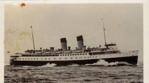 RP, Steamer/Oceanliner, S. S. Princess Marguerite- 1949