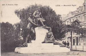 Belgium Liege Monument Rogier 1908