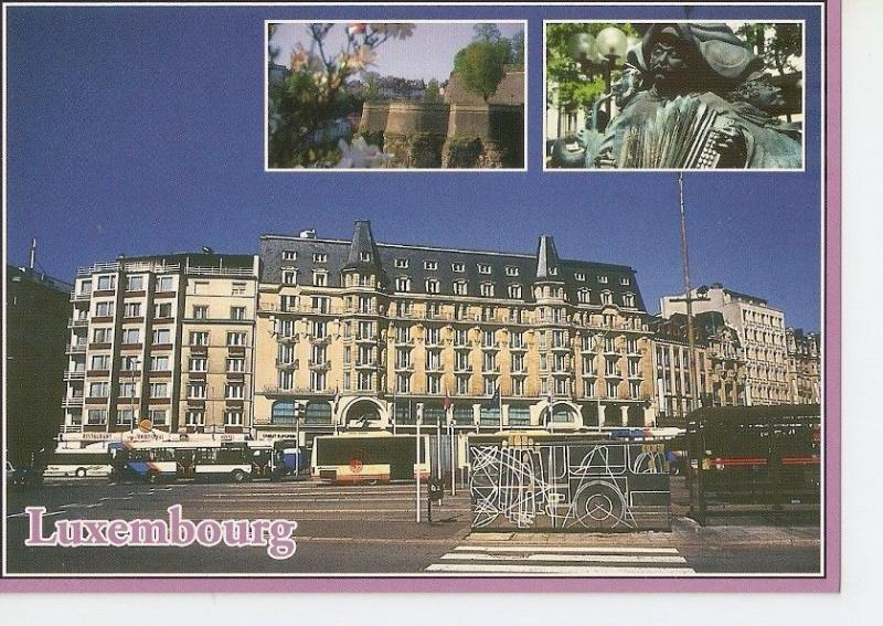 Postal (PostCard) 043243 : Luxembourg