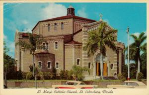 St Mary's Catholic Church of the Incarnation , ST PETERSBURG , Florida , PU-1964