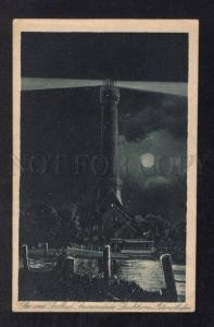 031299 LIGHTHOUSE in Swinemunde Poland Vintage PC
