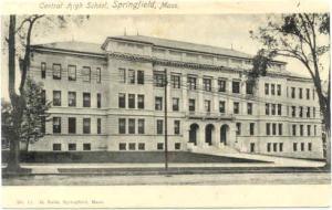 Central High School, Springfield, Massachusetts, MA, UNDivided Back