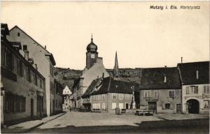 CPA Mutzig i. Els. Marktplatz (393654)