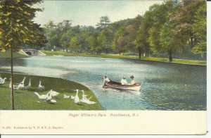 Providence, R.I., Roger Williams Park