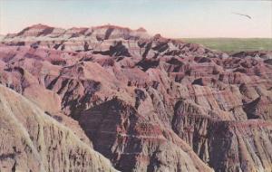 Lost Trail Barrier The Badlands National Monument South Dakota Handcolored Al...